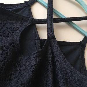 Abercrombie kids black dress